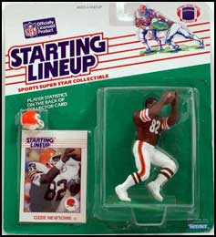 2000 Football Ozzie Newsome Starting Lineup Picture
