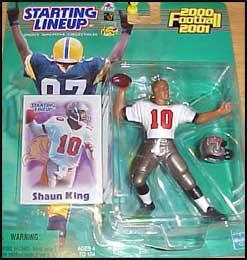 2000 Football Shaun King Starting Lineup Picture