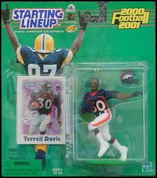 2000 Football Terrell Davis Starting Lineup Picture