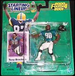 2000 Football Tony Brackens Starting Lineup Picture