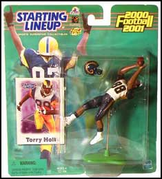 2000 Football Torry Holt Starting Lineup Picture