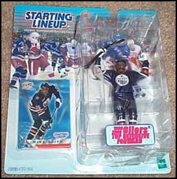 2000 Hockey Mike Grier Starting Lineup Picture