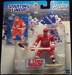2000 Hockey Steve Yzerman Starting Lineup Picture